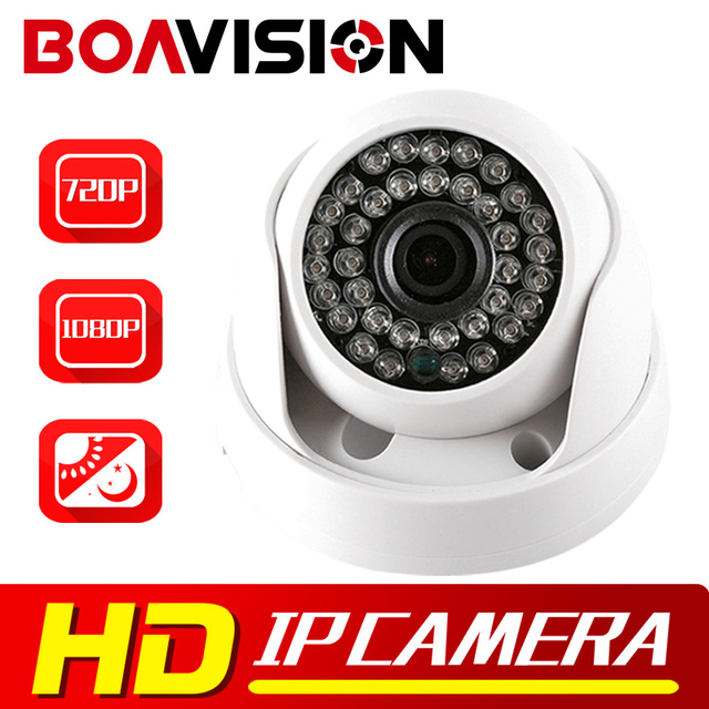 HD 720P 1080P IP Camera Dome IR Night Vision Network P2P Android iPhone XMEye View 1.0MP 2MP CCTV Security Camera IP Onvif