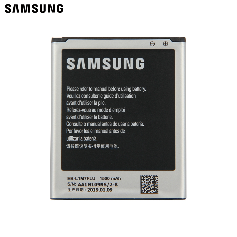 Samsung Original Replacement Battery EB L1M7FLU For Samsung Galaxy S3 Mini I8190 GT i8200 i8200 S3Mini GT I8190 I8190N 1500mAhh in Mobile Phone Batteries from Cellphones Telecommunications