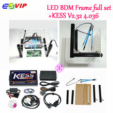 DHL free newest LED BDM FRAME +KESS