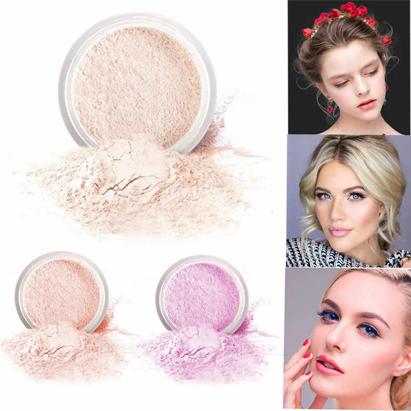 POPFEEL Lose make-up pulver Haut-made Make-Up Pulver Zu Helle Farbe Matte Lose Pulver