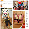 Universal 5 Point Harness Safety High Chair Seat Belts Baby Stroller Belt Infant Pram Buggy Pushchair 360 Rotating Hook Strap 5