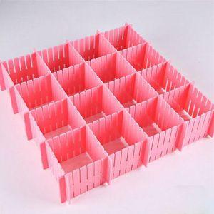 Ящик-сетка 1 шт., сделай сам, разделитель для бытовых предметов, пластиковый органайзер для хранения дома