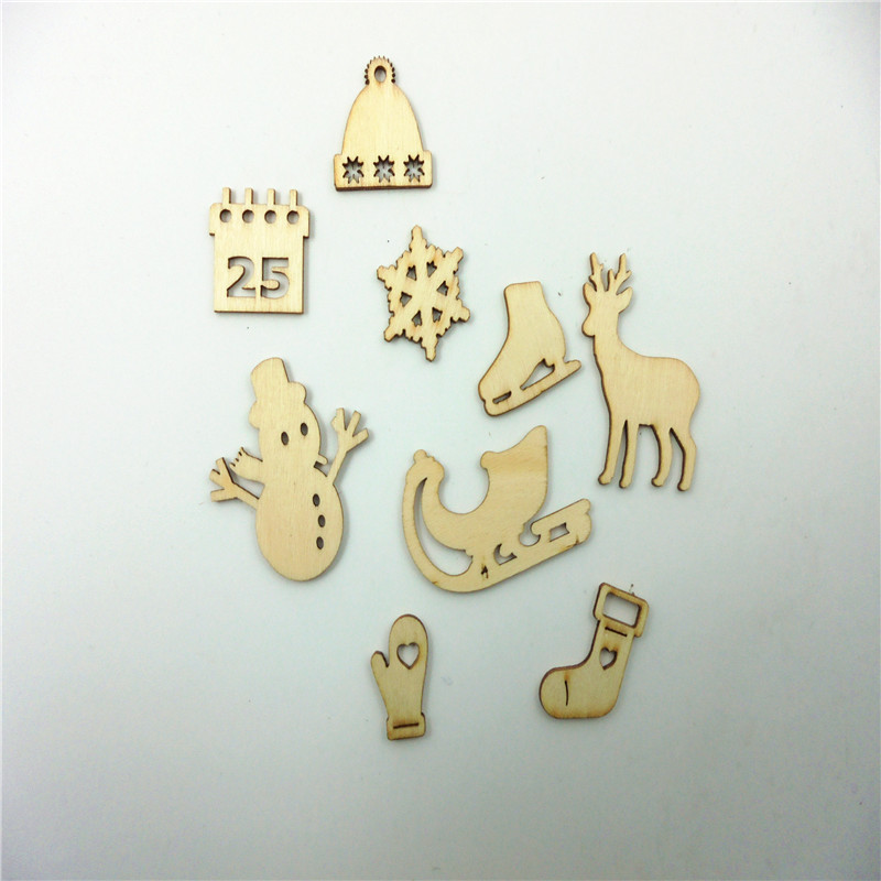 Buy hot laser cut christmas items decorative heart unfinished wooden shapes - Wooden home decor to provide warm atmosphere ...
