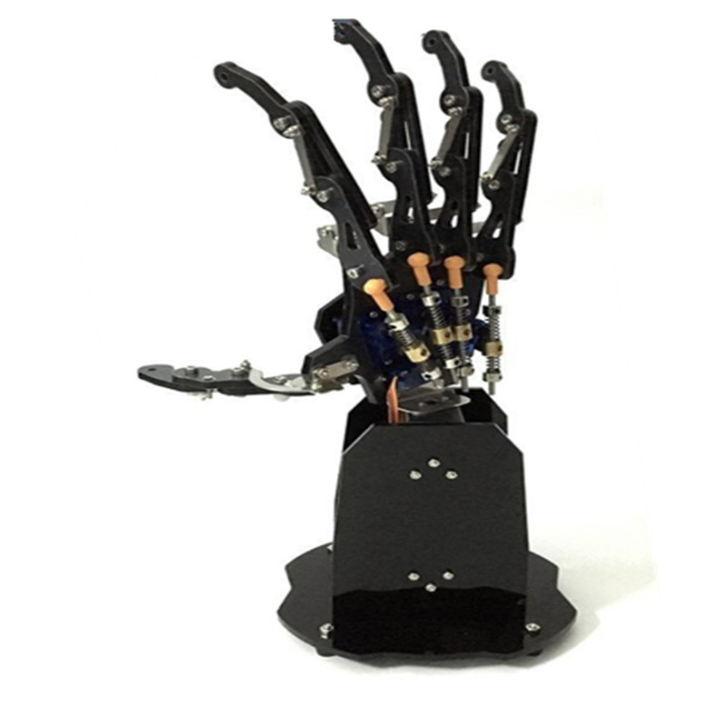 1:1 7 Dof Smart Bionic Arm Manipulator Teaching Diy Kit 7 Axis Freedom Degree Fingers Hand Wrist Duino 51 Control Active Components