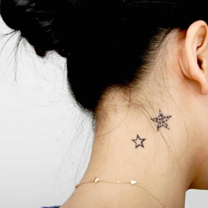 New Style Tatoo Henna Fake Tattoo Flash Tatto Temporary Tattoo Sticker Men Taty Tatuagem Tattoos Different Stars Wm003 Stickers Men Flash Tattotatto Temporary Aliexpress