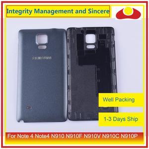 Image 5 - 10 шт./лот для Samsung Galaxy Note 4 Note4 N910 N910F N910V N910C N910P корпус батарейного отсека задняя крышка корпус