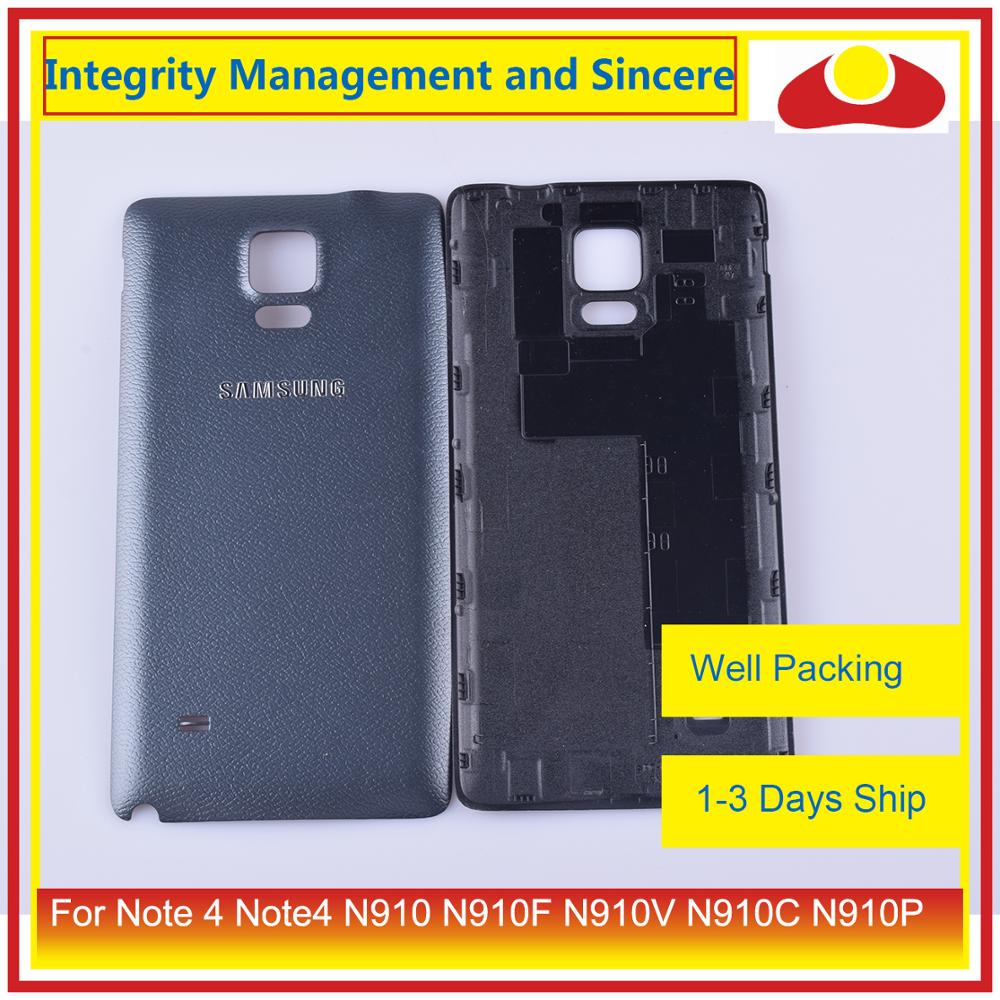 Image 5 - 10Pcs/lot For Samsung Galaxy Note 4 Note4 N910 N910F N910V N910C N910P Housing Battery Door Rear Back Cover Case Chassis Shell-in Mobile Phone Housings & Frames from Cellphones & Telecommunications