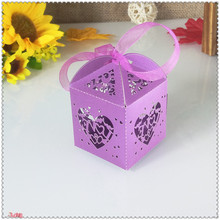 50pcs heart-shaped design wedding party candy gift box Christmas candy gift box romantic wedding dec