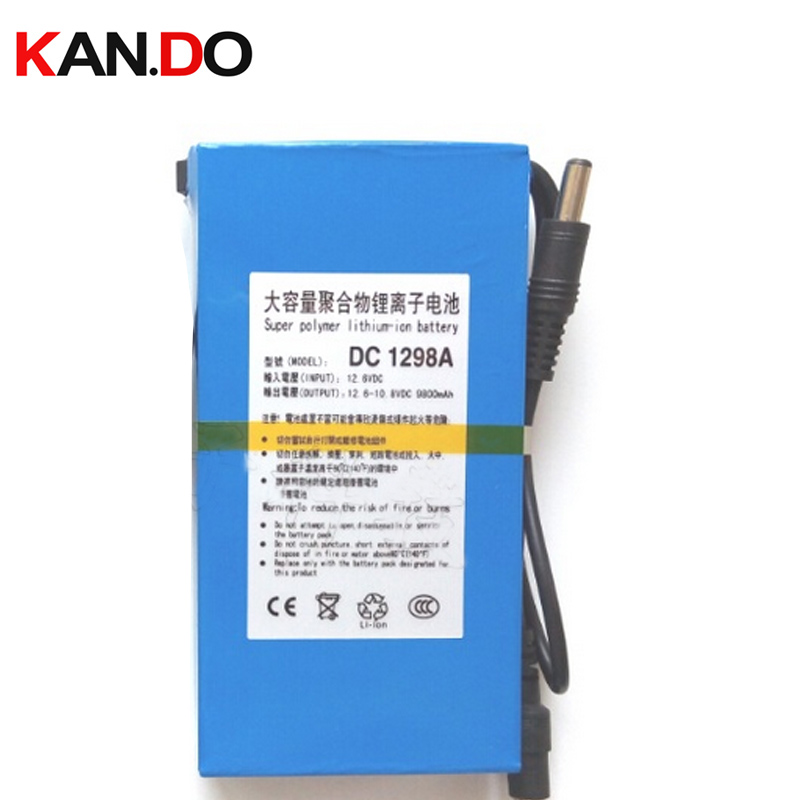 capacity 9800 Mah,CE ROHS approved w/ 12.6V 1A charger,DC 12V lithium battery pack,CCTV camera lithium battery smart power 2pin to 7 9 5 4mm dc with pin port charger power adapter 90 degree right angled for lenovo thinkpad ibm carbon laptop