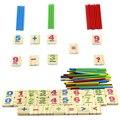1 Conjunto para Crianças Números Contando Vara Matemática Matemática Brinquedo Aprendizagem Precoce De Madeira Brinquedos Educativos para Crianças Caçoa o Presente