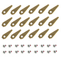 18pcs Titanium Coating Replacement lawn mower Blade for B-osch Indego Robotic Mower