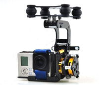 Gopro 3 Brushless Camera Mount Gimbal w/ Motors & Controller for Gopro3 Aerial