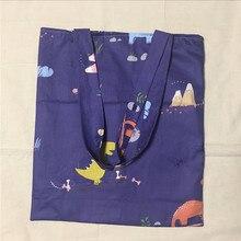 YILE обновленная из хлопка и льна хозяйственная сумка на плечо сумка для переноски экологический многоразовый мешок печати зеленый оливковый ветка L017