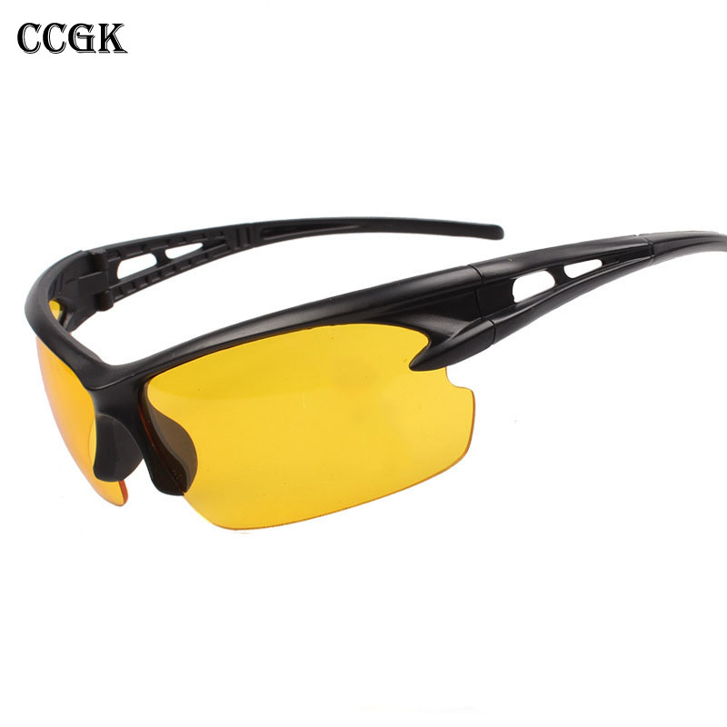 Safety Goggles Night vision Goggles Sunglasses UV Protection Driving Graced Glasses Moto Eyewear Cycling Riding Tactical glasses protection cycling bicycle safety glasses riding cycling goggle eyewear gafas de seguridad men women sunglasses2103
