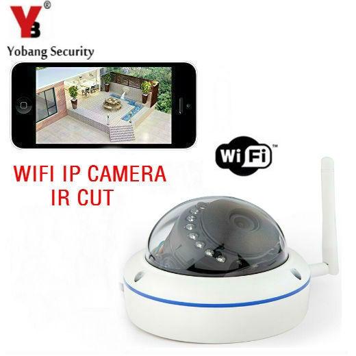 YobangSecurity 720p Home Surveillance Camera Wifi Wireless Outdoor IP Camera with Free Mobile APP,Night Vision,IR Cut