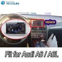 Для Audi A6 A6L 2005 ~ 2011 Автомобильный мультимедийный проигрыватель на Android Системы авторадио радио стерео gps навигации мультимедиа аудио видео