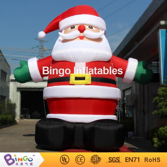 $ Number pies de alto (6 m de alto) al aire libre de la navidad de papá noel inflable fábrica venta directa BG-A0344 juguete