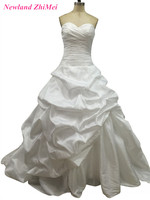 Simple Mermaid Taffeta Wedding Dress Sexy Sweetheart Backless Floor Length Bridal Gowns Vestidos De Novia 2017