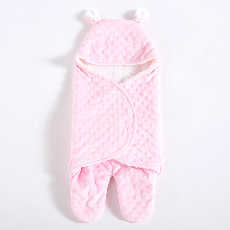 0-6 months Baby Blanket Swaddling months baby newborn coral fleece blankets wrapped baby sleeping bag quilt bag split anti kick free shipping infant children cartoon thick coral cashmere blankets baby nap blanket baby quilt size is 110 135 cm t01 page 2