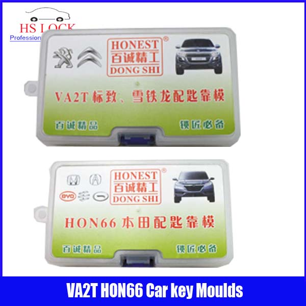 ФОТО HON66& VA2T car key moulds for key moulding Car Key Profile Modeling locksmith tools