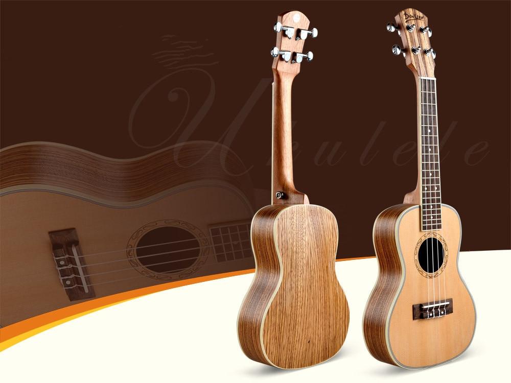 deviser 24 ukulele hawaii guitar four string mini uke for beginner in ukulele from sports. Black Bedroom Furniture Sets. Home Design Ideas