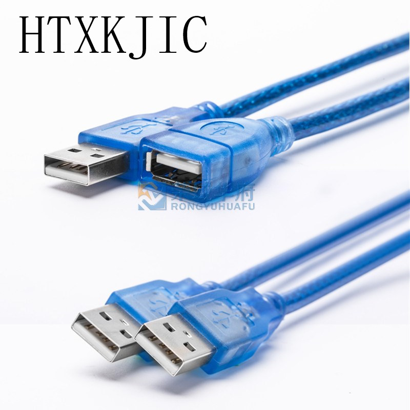 USB Extension Cables EF USB 2.0 A MALE TO A FEMALE EXTENSION CABLE M-F F For Flash Memory Pen Drives Digital Camera Male To Male
