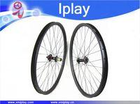 Iplay novatec 탄소 mtb 바퀴 29er 중국 탄소 디스크 바퀴 hookless 35mm 넓은 ud 매트 탄소 섬유 산악 자전거 바퀴