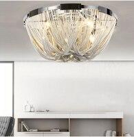 Бесплатная доставка Современная Люстра светодиодный алюминиевый поток Atlantis Люстры лампы для Гостиная Дизайн столовой свет D60CM