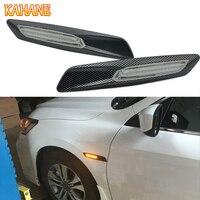KAHANE 2x LED Car Fender Side Marker Turn Signal Light Sticker FOR BMW F30 E90 E91 E92 E93 E46 M3 E60 E61 M5 E81 E82 E87 E88