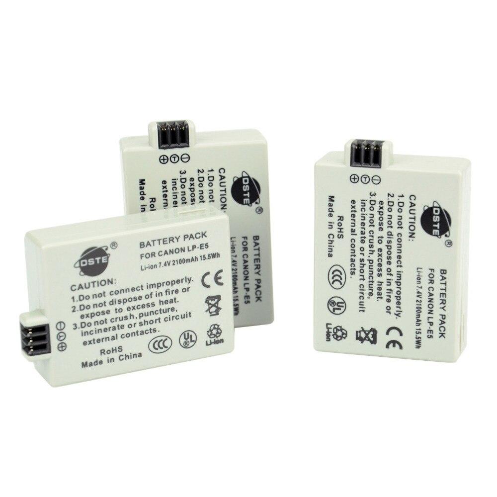 ФОТО DSTE 10pcs LP-E5 LPE5 LP E5 Camera Battery For Canon 450D 500D 1000D Kiss Digital X2 X3 F Rebel XSi Xli XS