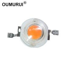 100 шт. 3 Вт светодиодные лампы высокой мощности завод расти свет лампы полный ассортимент 400-840nm 45mil чип 3.2-3.4 700ma180-200lm бесплатная доставка