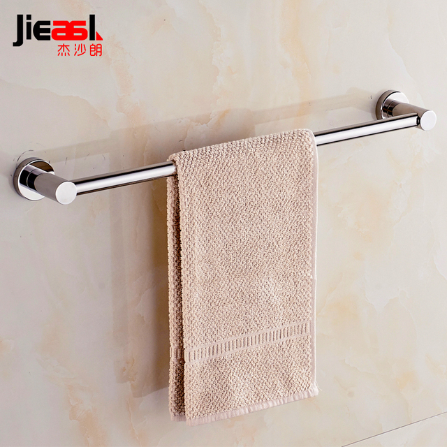 304 Stainless Steel Horizontal Bar Single Rod Extra Long One Meter Within The Custom Towel Rack