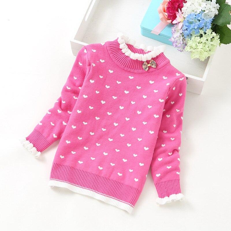 2018 fashion girls sweaters thick sweater 2-12years children clothing K51082018 fashion girls sweaters thick sweater 2-12years children clothing K5108