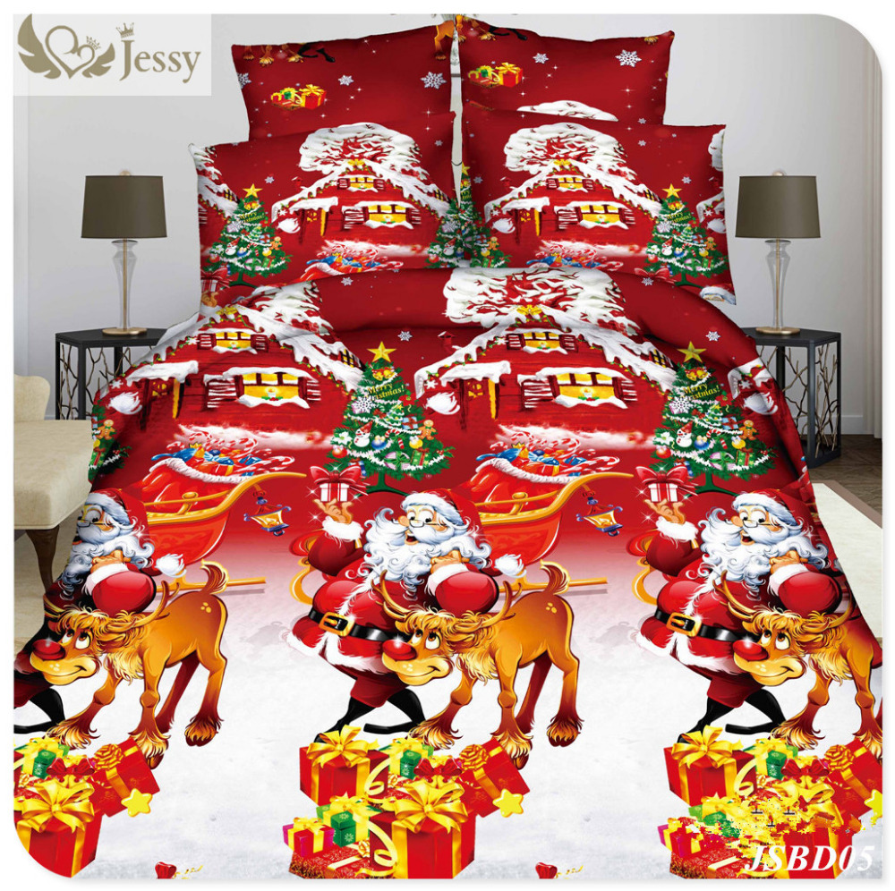 aliexpress com buy christmas bed linens for gift 3d christmas