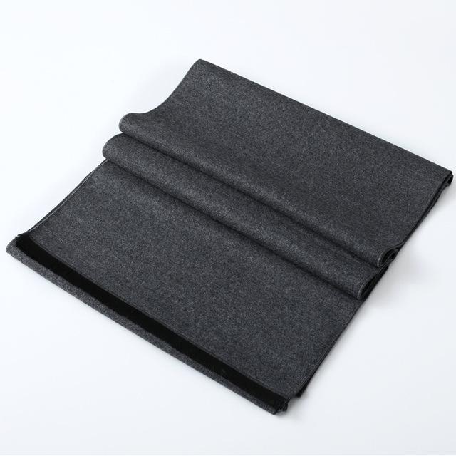 Marca de moda Clásica Imitación de la Bufanda de La cachemira hombres de Invierno Largo y Grueso Caliente Bufandas cachecol Pañuelo para hombre Casuales de Alta calidad