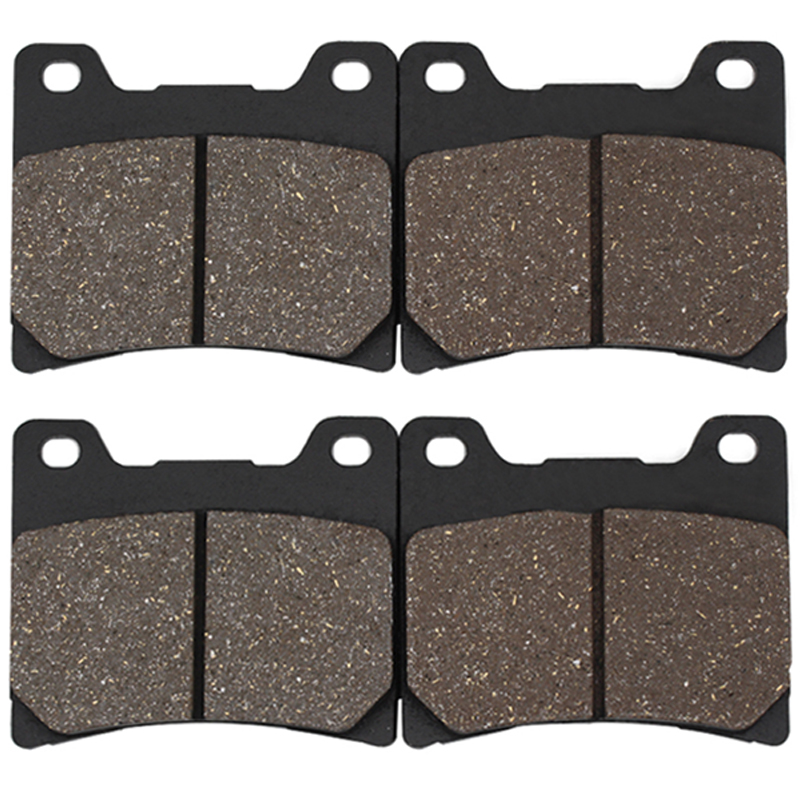 Cyleto Motorcycle Front and Rear Brake Pads for YAMAHA XJ 900 XJ900 Seca 1983-1994 image