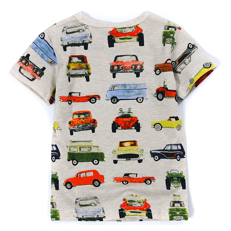 V-TREE Summer fashion children t shirts for boys girls t-shirt kids cotton short sleeve tops baby tees designer kids clothes summer t shirts for boys cotton kids shirts dinosaur short sleeve pullover clothes v neck boy t shirt fashion children clothing