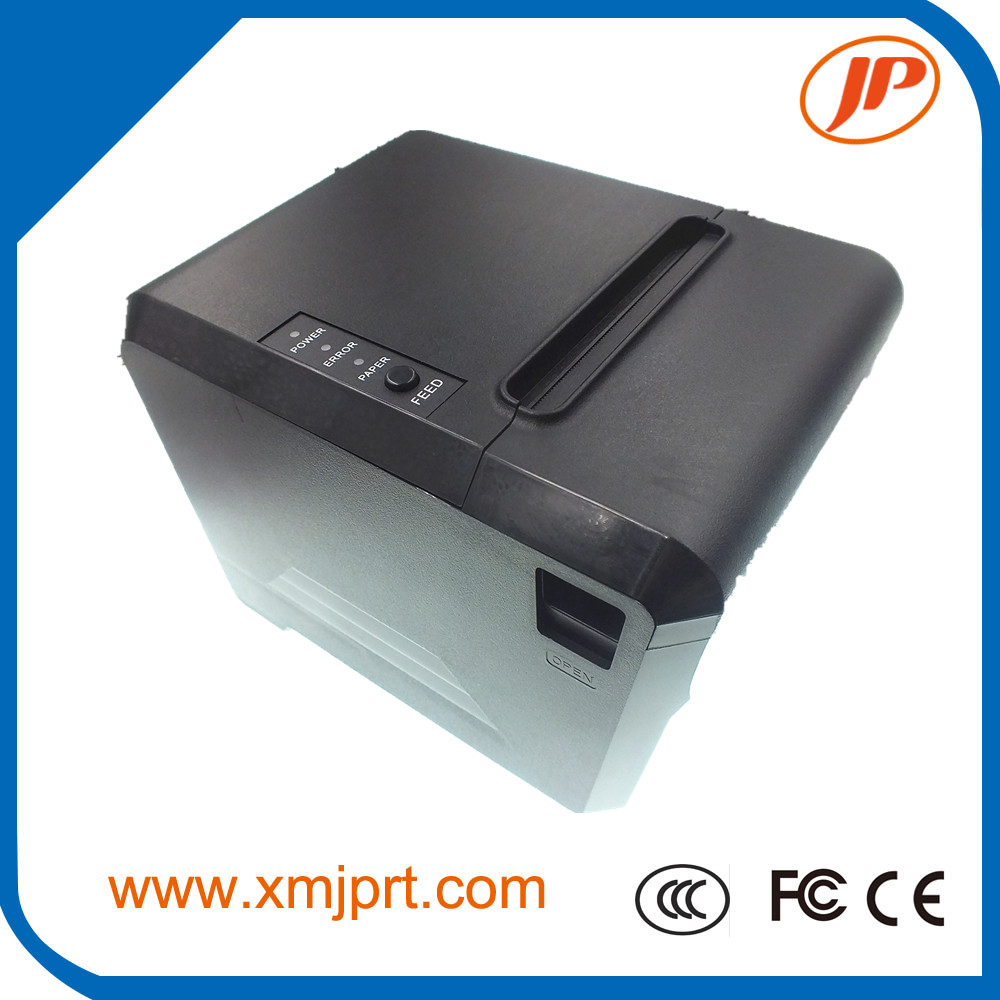 Free Shipping 80mm thermal printer 80mm kitchen printer USB port POS 80mm thermal receipt printer USB+Serial/LAN/Bluetooth serial port best price 80mm desktop direct thermal printer for bill ticket receipt ocpp 802