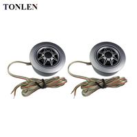 TONLEN 2PCS Car Tweeter 4 Ohm 20W Car Auto Loud Dome Speaker Super Power Horn Loudspeaker