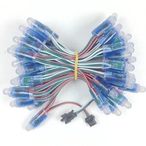 3000 шт. 12 мм WS2811 полноцветный пиксельный светодиодный модуль света DC 5 в IP68 водонепроницаемый RGB цветной цифровой светодиодный пиксельный све...