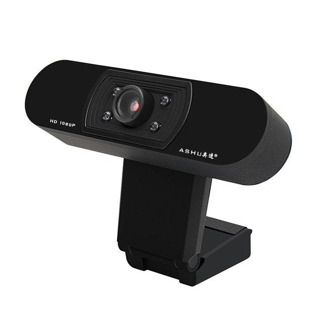 Webcam 1080P,  HDWeb Camera with Built-in HD Microphone 1920 x 1080p USB Plug n Play Web Cam, Widescreen Video 2