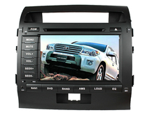 8inch Android 6.0 16GB ROM quad core PX3 android car dvd fit for toyota land cruiser landcruier lc200 2008-2014 gps radio wifi