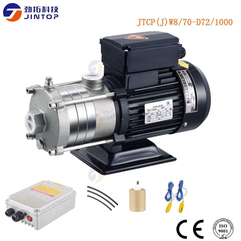 (MODEL JTCP(J)W8/70 D72/1000) JINTOP SOLAR PUMP 1000W 72V swimming pool water pump for swimming Energy Fuel Solar Water Pump