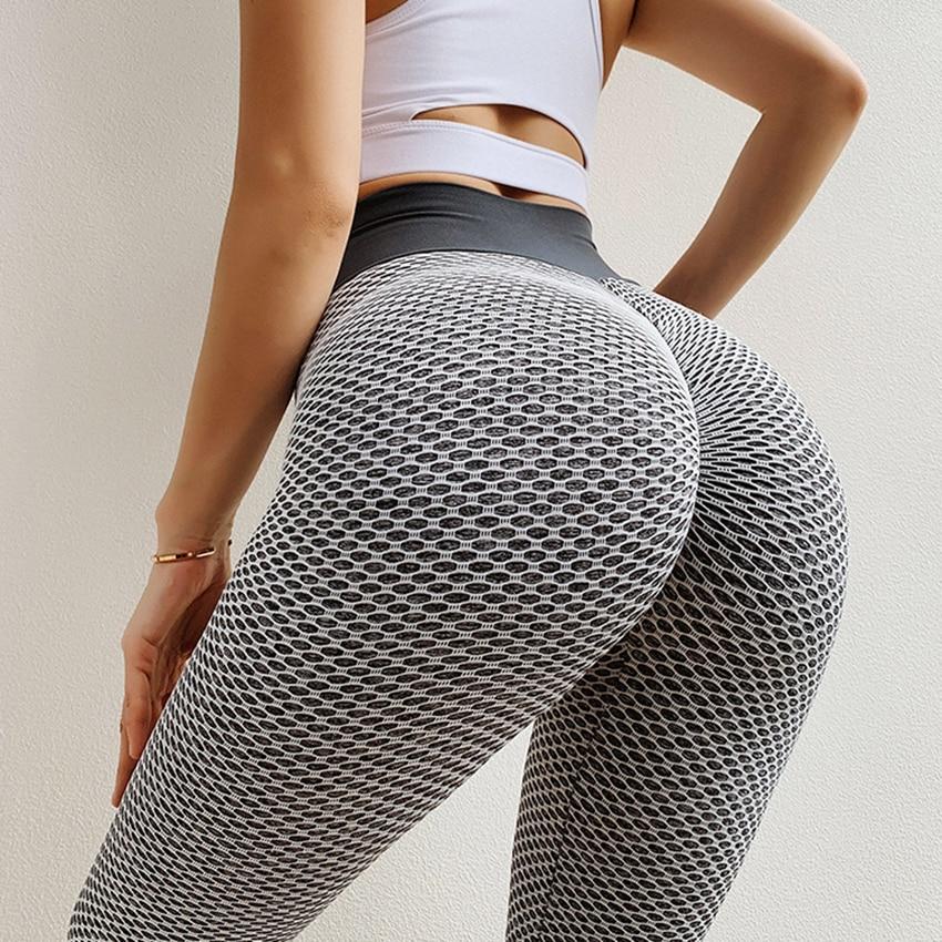 Scrunch Butt Sport Leggings Digital Print Workout Gym Leggings Quick Dry Fitness Clothing High Waist Yoga Pants For Women