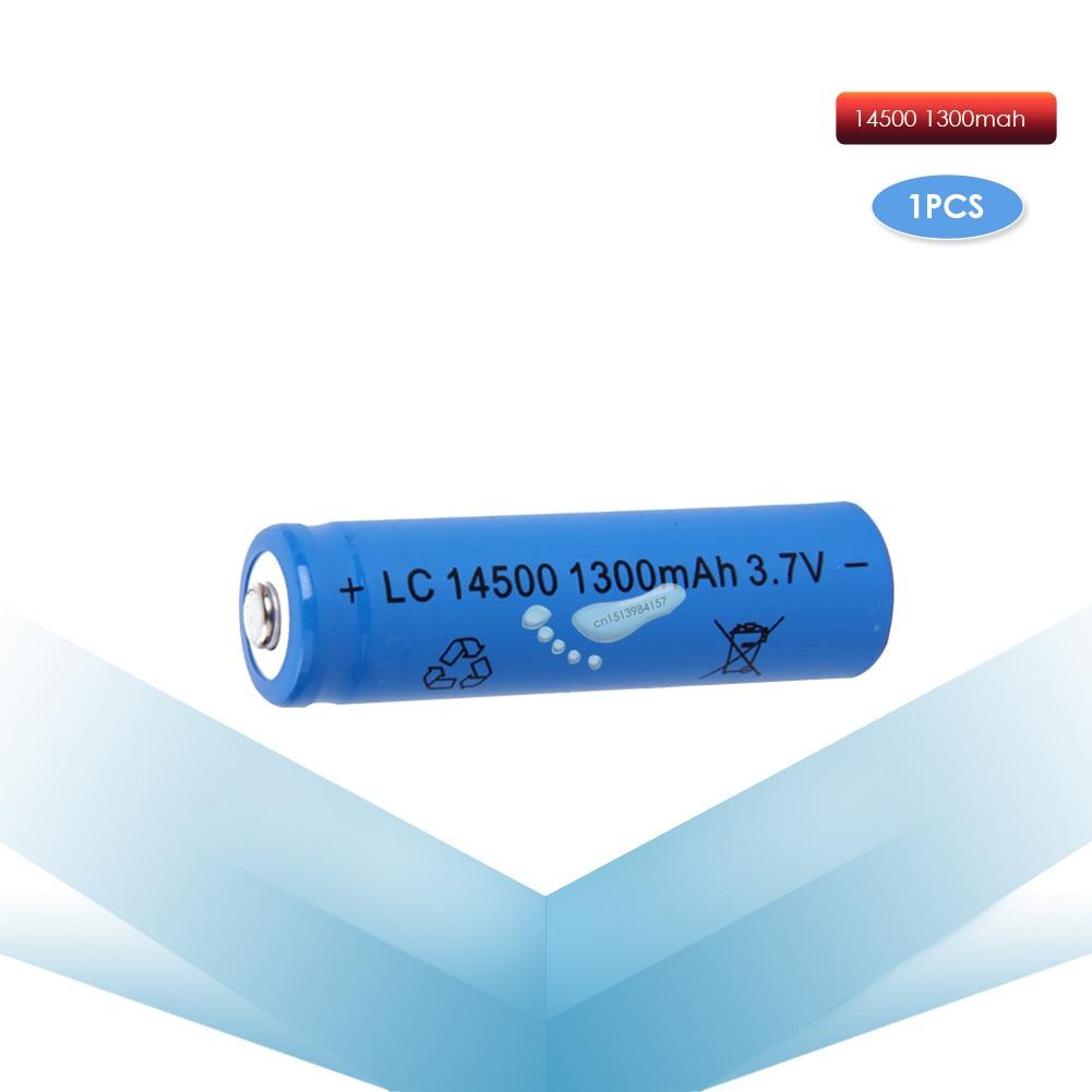 Аккумулятор kpay 14500 для светодиодного фонарика, 1 шт./компл., 3,7 В, 1300 мАч