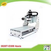 CNC 3020T D300 4 Axis Mini CNC Router Engraver Free Tax To EU
