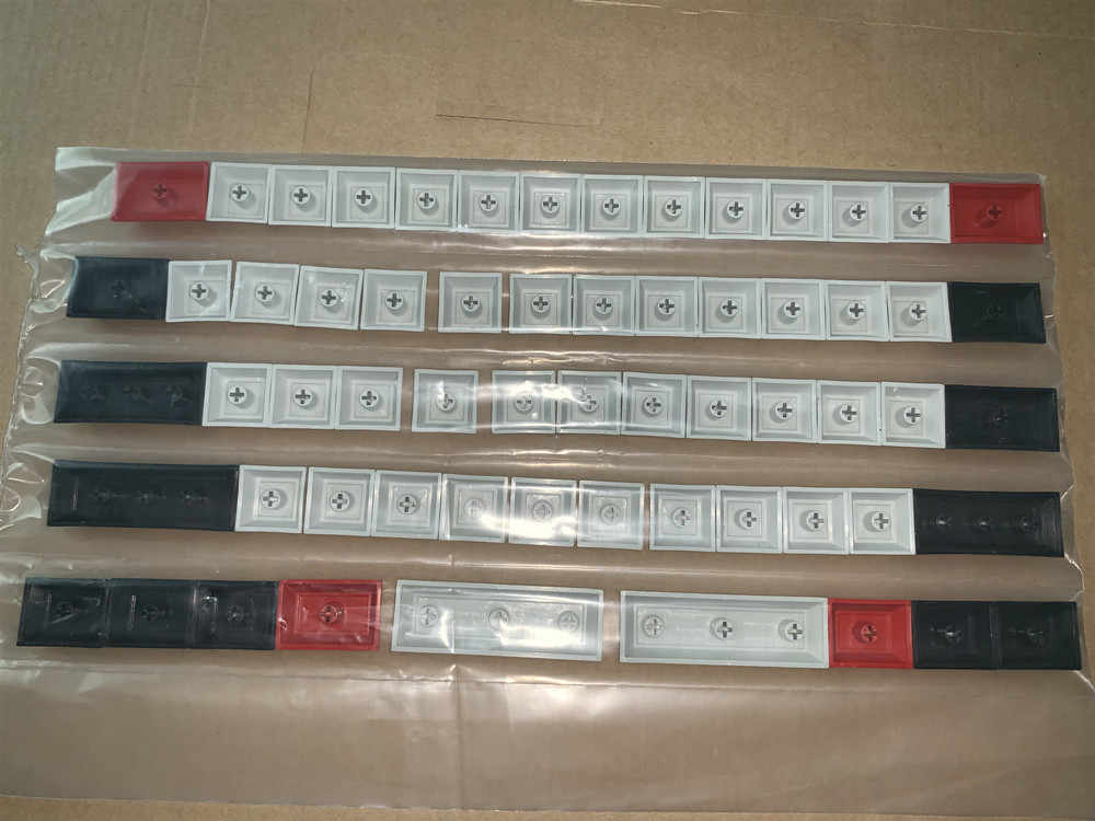 1 упаковка DSA клавишные колпачки из ПБТ механическая клавиатура Чехлы для клавиш для filco minila GH60 также подходит для 61 раскладной клавиатуры