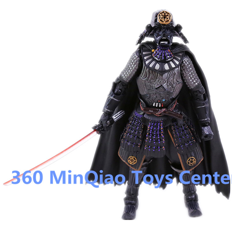 Star Wars MOVIE REALIZATION Samurai Taisho Darth Vader PVC Action Figure Collectible Model Toy RETAIL BOX WU973 avengers movie hulk pvc action figures collectible toy 1230cm retail box
