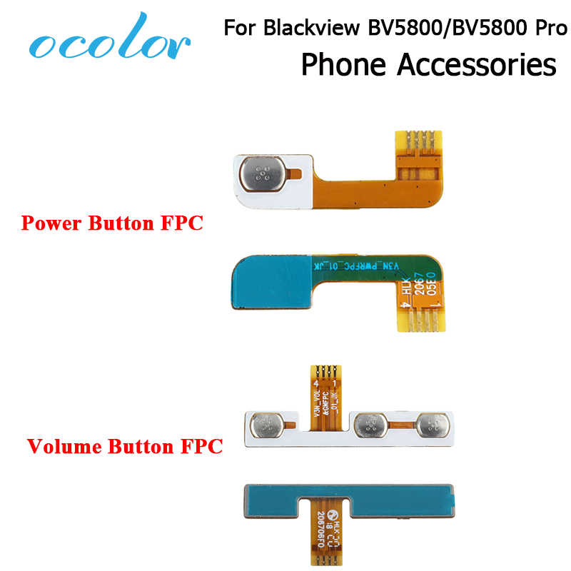 ocolor For Blackview BV5800 BV5800 Pro Power Button Power Up/Down FPC Cable For Blackview BV5800 Pro Volume Button FPC Cable
