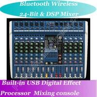 Микшерный микрофон MICWL  10 каналов  беспроводной Bluetooth микрофон  караоке  студии  микшерный пульт DSP 40 кГц  24-битный цифровой процессор эффекто...
